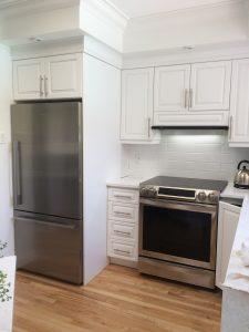 armoire cuisine finition surpreme